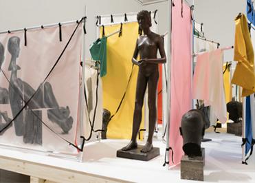Installation von Yorgos Sapountzis, 2017
