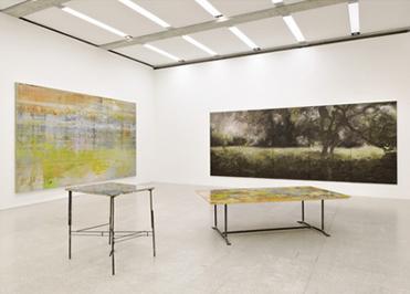 Ausstellungsansicht einer Ausstellung von Hubert Scheibl, 2010, Mumok