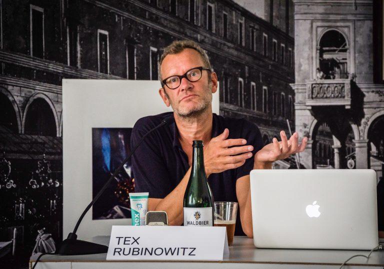 Kunstgespräch Tex Rubinowitz