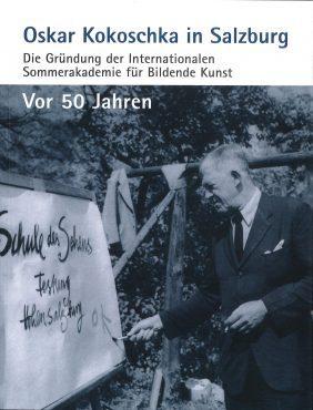 Oskar Kokoschka in Salzburg, book cover