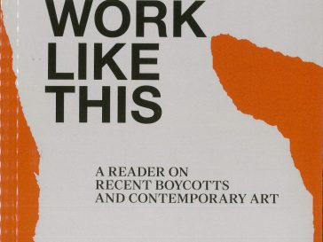I Can't work like this, book cover