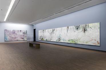 Arbeiten von Hubert Scheibl in der Albertina