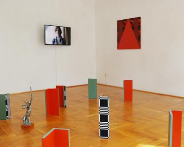 exhibition view, 2016, Ekaterina Shapiro-Obermair