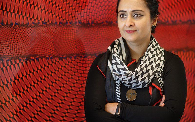 Aisha Khalid, portrait