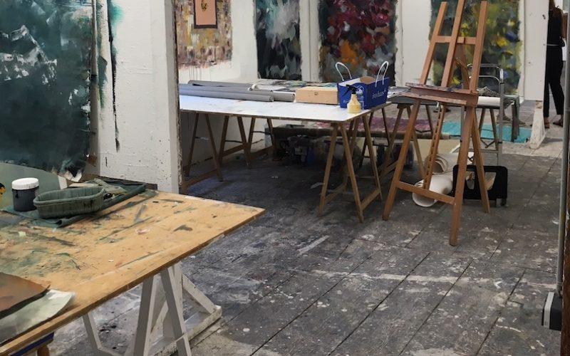 Hubert Scheibl's classroom