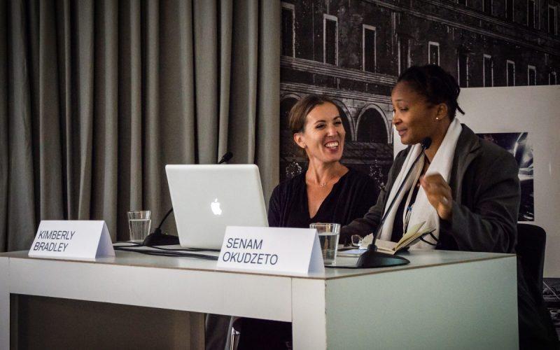 Kimberly Bradley and Senam Okudzeto