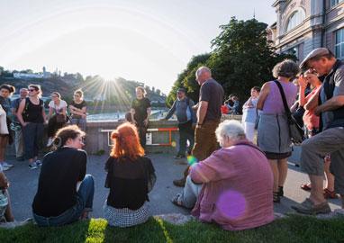 Stadtspaziergang 2019, Foto: Mira Turba