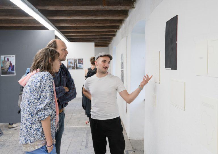 Tag der offenen Ateliers, Klasse von Sammy Baloji und Lotte Arndt