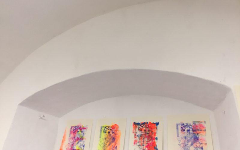 prints on wall
