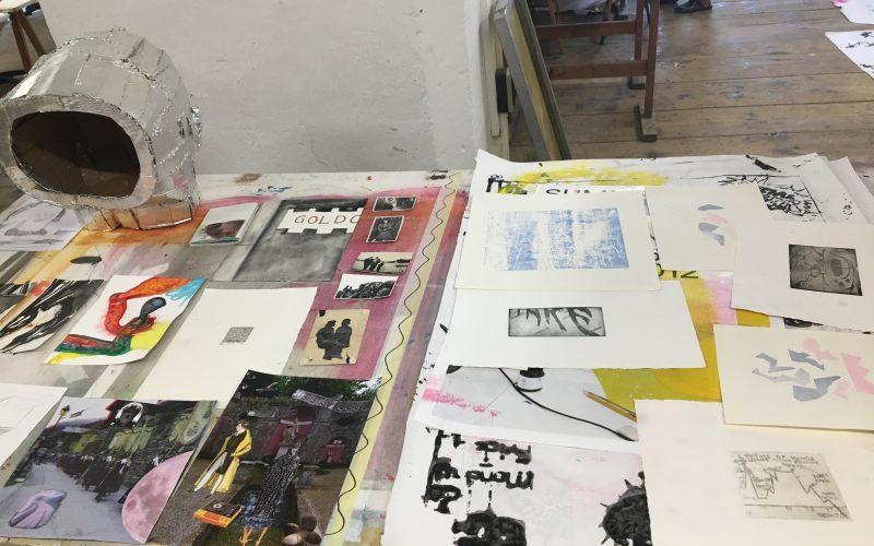 Foto Arbeiten in Druckklasse