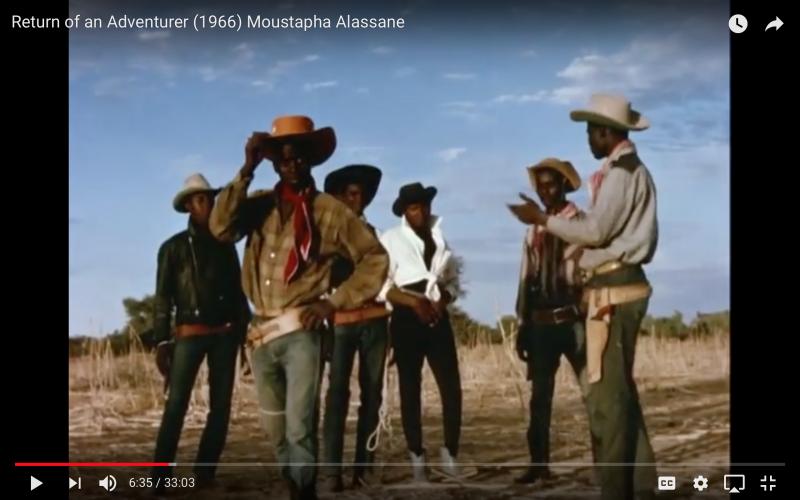 Screen shot youtube, Return of an Adventurer, 1966
