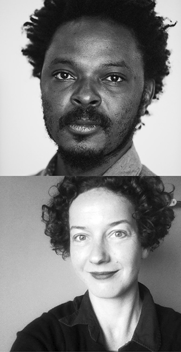 Portrait photos Sammy Baloji and Lotte Arndt