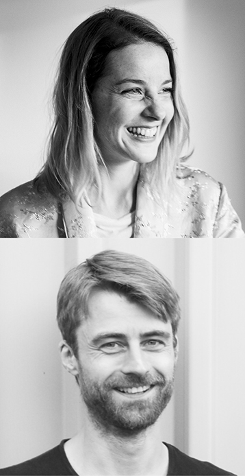 Portrait photos Louisa Elderton, Klaus Speidel