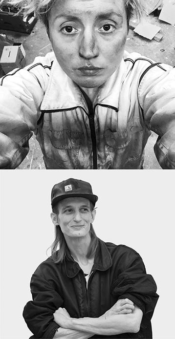 Portrait Fotos Noële Ody, Toni Schmale