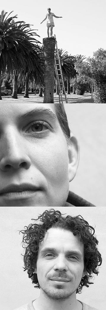 Portrait photos Cäcilia Brown, Anna Hofbauer, Mikkel Holm Tort