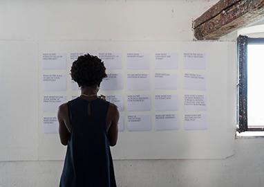Tag der offenen Ateliers 2019, Kurs Nicolaus Schafhausen
