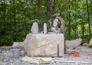 Stone sculpture course 2019