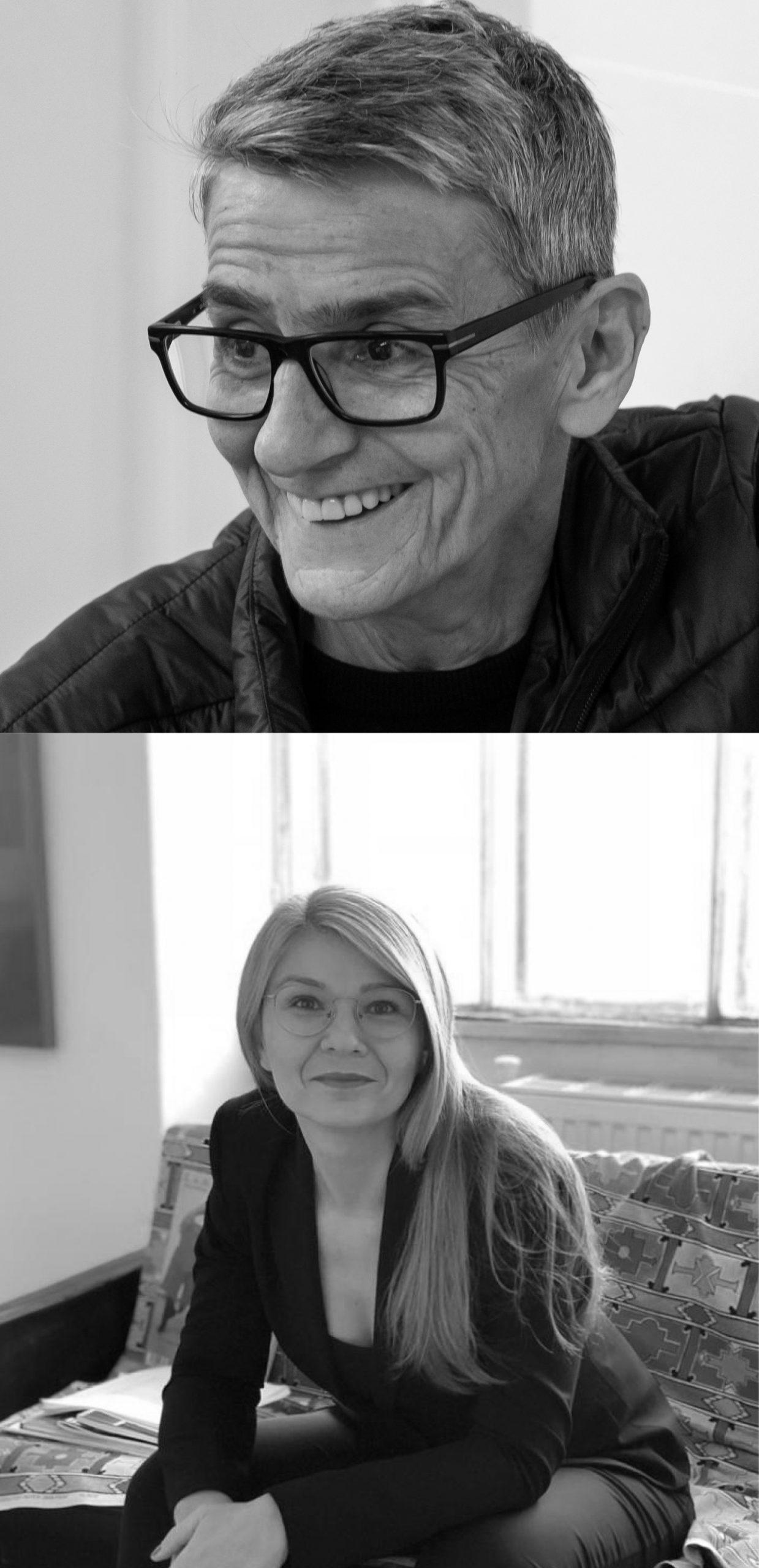 Anna Daučiková und Ana Hoffner